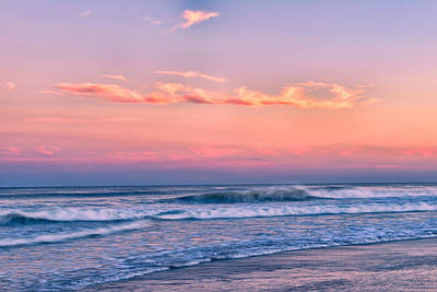 Photograph - Ocean City Sunset by Mark Robert Rogers