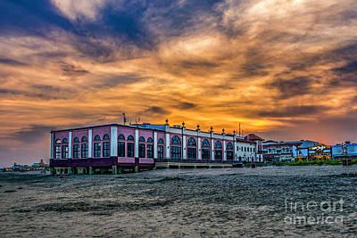 Photograph - Ocean City Sunset by Nick Zelinsky