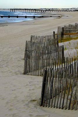 Photograph - Ocean City Vignette by My Lens and Eye   - Judy Mullan -