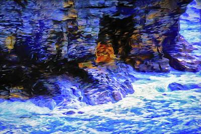 Photograph - Ocean Cliffs by Dennis Baswell