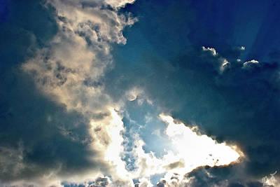 Photograph - Ocean Clouds by Gina O'Brien