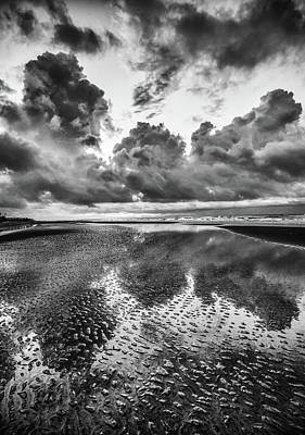 Photograph - Ocean Clouds Reflection by Donnie Whitaker