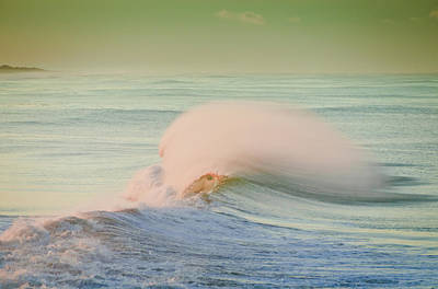 Photograph - Ocean Curl by Connie Cooper-Edwards