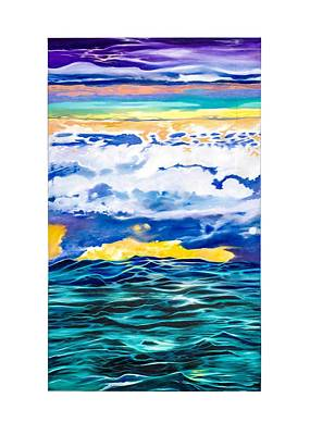 Painting - Ocean by Darren Mulvenna