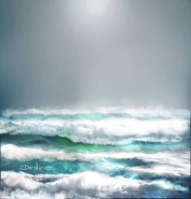 Digital Art - Ocean  by Dedric Artlove W