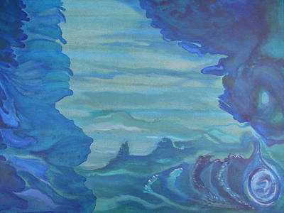 Ocean Dream Print by Lindie Racz