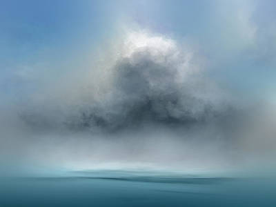 Abstract Landscape Royalty-Free and Rights-Managed Images - Ocean Dreams by Lonnie Christopher