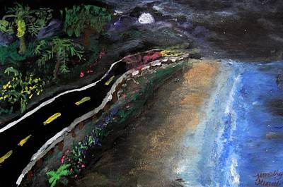 Ocean Drive At Night Original by Timothy Stuart