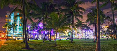 Ocean Drive Miami Original by Ryan Burton