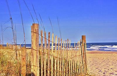 Photograph - Ocean Dunes by Lisa Wooten