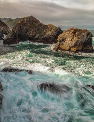 Photograph - Ocean-falls by Jonathan Nguyen