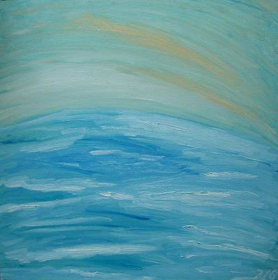 Painting - Ocean. Fantasy 29. by Bennu