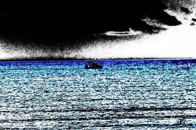 Photograph - Ocean Fishing Boat by Gina O'Brien