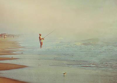 Ocean Fishing Art Print by JAMART Photography