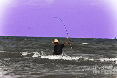 Photograph - Ocean Fishing by Kim Henderson