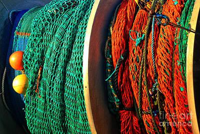 Photograph - Ocean Fishing Nets by Adam Jewell
