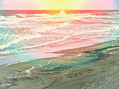 Photograph - Ocean Flare by Colleen Kammerer