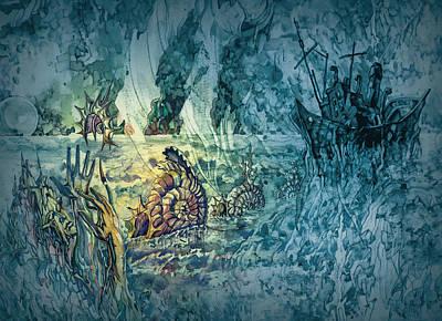 Painting - Ocean Floor by Igor Khalandovskiy