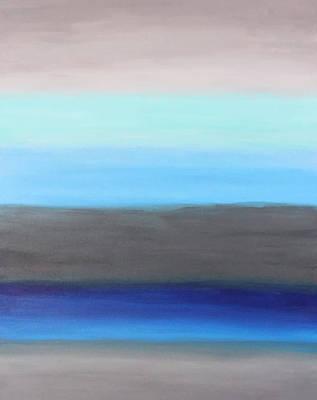 Ocean Floor Print by Rachel Follett