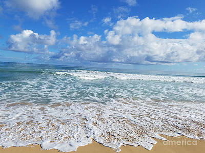 Photograph - Ocean Foam by Kevin F Heuman
