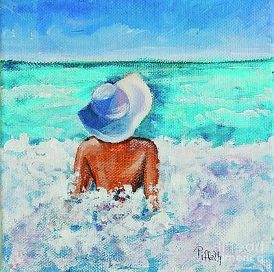 Painting - Ocean Frolicking by Patricia Piffath