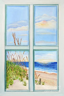Painting - Ocean Front View by Shelia Kempf