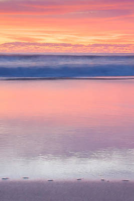 Sunset Abstract Photograph - Ocean Glow by Az Jackson