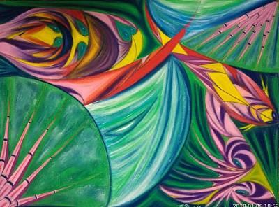 Pastel - Ocean Graffiti by Robert Nickologianis