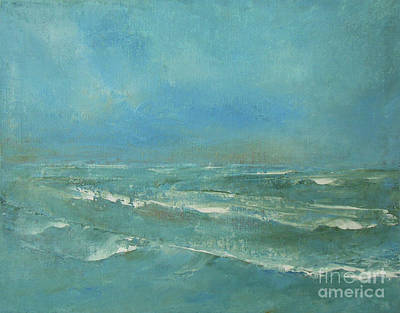 Painting - Ocean Green by Jane See