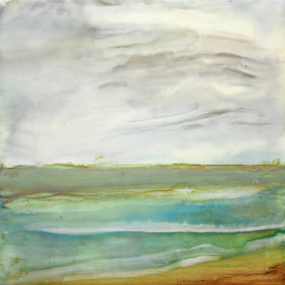 Painting - Ocean Green by Jennifer Creech