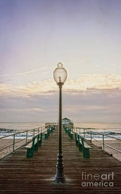 Photograph - Ocean Grove Pier At Dawn by Debra Fedchin