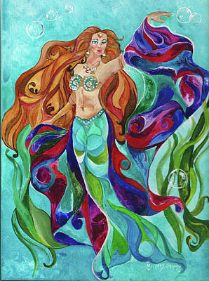 Painting - Ocean Gypsy by Sherry Shipley