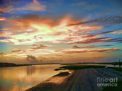Photograph - Ocean Isle Sunrise by Kerri Farley