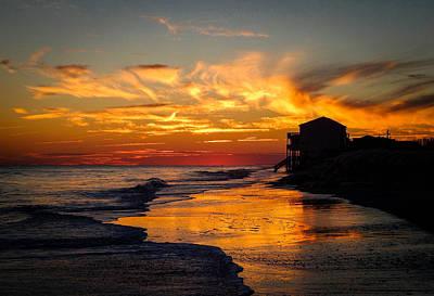 Gerald Monaco Photograph - Ocean Isle Sunset by Gerald Monaco