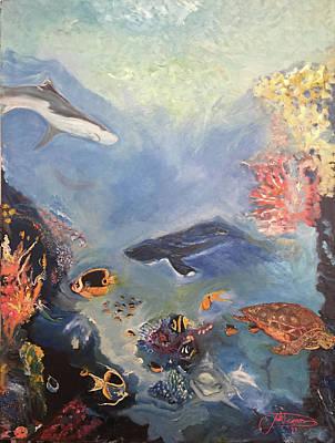 Painting - Ocean by Jack Diamond
