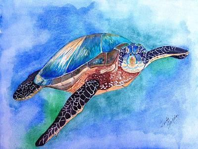 Painting - Ocean Jewel by Joette Snyder