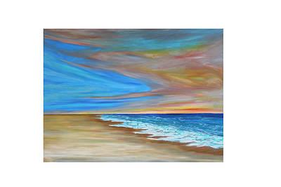 Pastel - Ocean  Journey  by Daniel Dubinsky