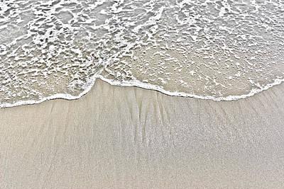 Ocean Lace Art Print