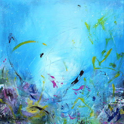 Painting - Ocean Life by Kume Bryant
