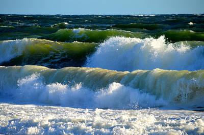 Undertow Photograph - Ocean Majesty by Dianne Cowen