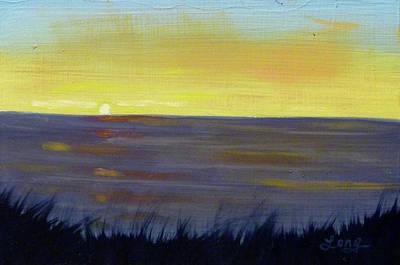 Painting - Ocean Meadow 2 by JJ Long