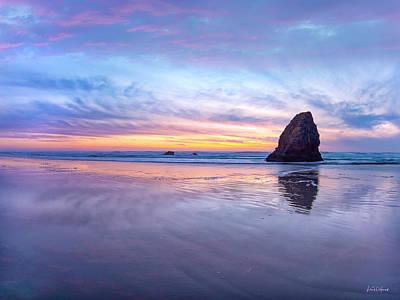 Photograph - Ocean Meadows Serenity by Leland D Howard