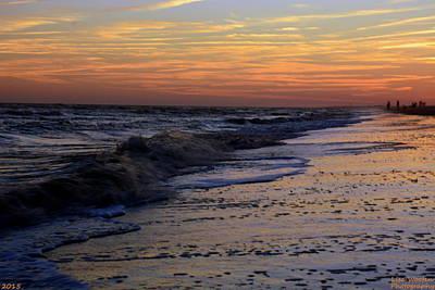 Photograph - Ocean Meets Beach by Lisa Wooten