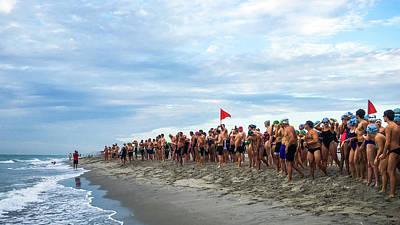 Photograph - Ocean Mile Swim Delray Beach Florida by Lawrence S Richardson Jr