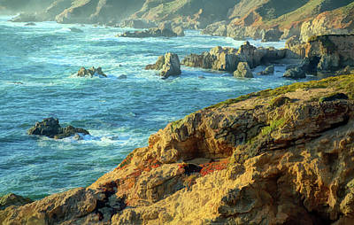 Photograph - Ocean Mist And Light by Art Cole