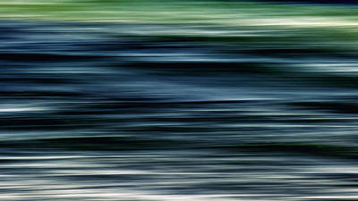 Abstract Movement Photograph - Ocean Movement by Stelios Kleanthous
