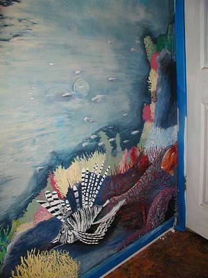 Ocean Mural Art Print