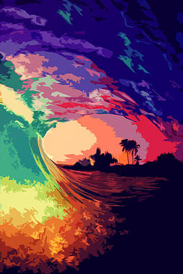 Painting - Ocean Of Colors  by Andrea Mazzocchetti