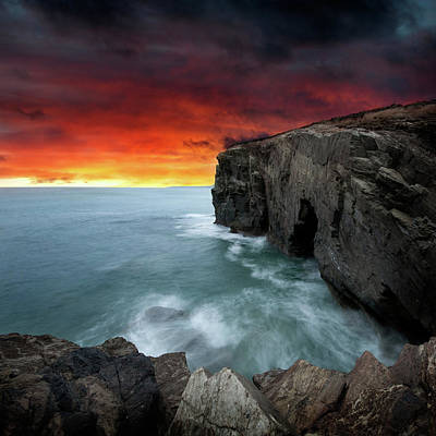 Ocean Of Light Print by Ian David Soar
