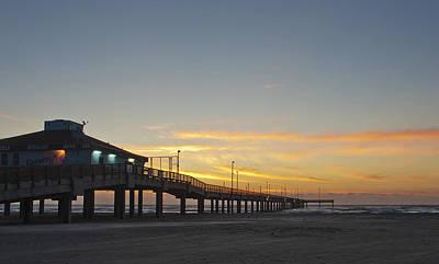 Photograph - Ocean Pier by Brian Kinney